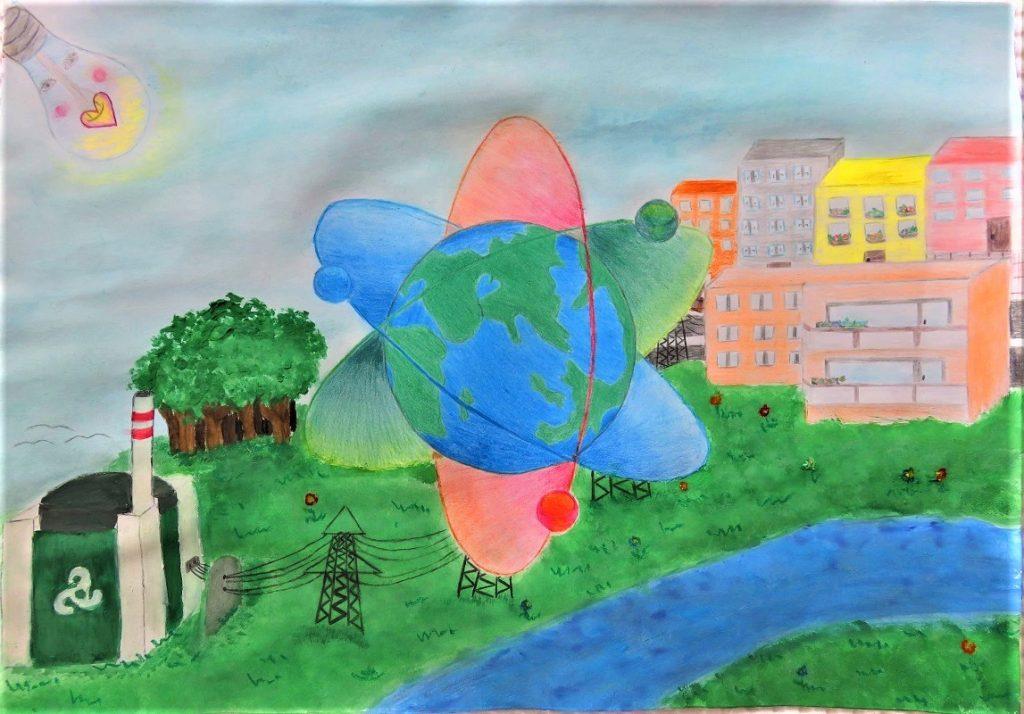 1-ва група - Анна Николова - Енергия за зелена планета - 1 място