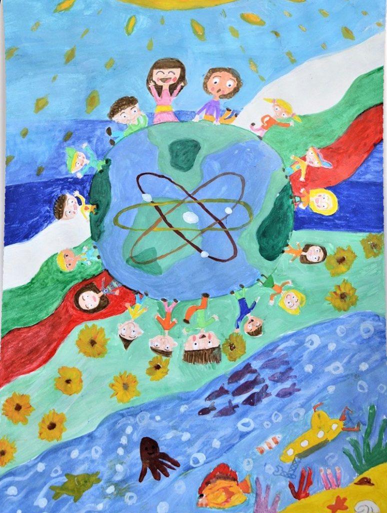 1-ва група - Веселина Кунова - За екологично чисто бъдеще - 3 място