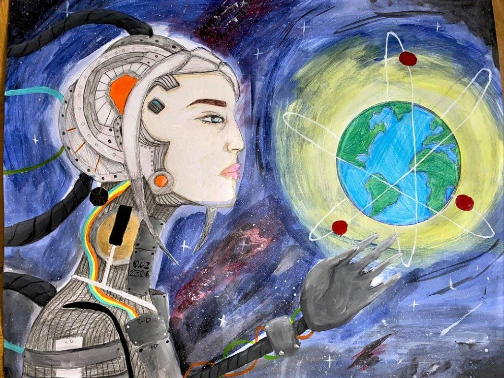 2-ра група - Стефани Ценова - Атомът и новите технологии - 2 място