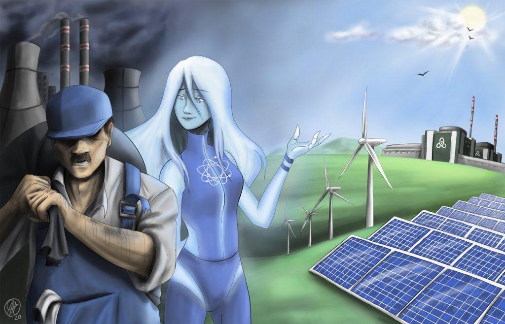 3-та група - Александра Чобанова - Енергетика 2020 - 1 място